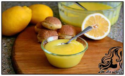 دسر زرده تخم مرغ با شربت میوه درست کنیم