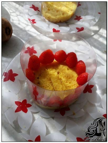 طرز تهیه فغزیه(fraisier) دسر فرانسوی