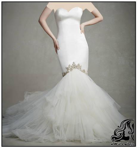 زیباترین و جدیدترین مدل های لباس عروس 2016