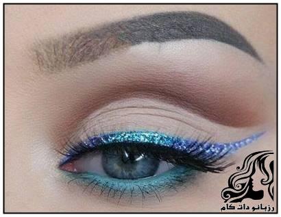 نمونه های آرایش خط چشم جدید و جذاب مدل ابرو