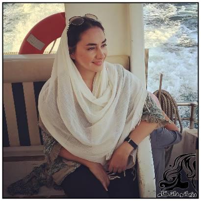 تصاویر زیبا و جدید هانیه توسلی در جنوب کشور