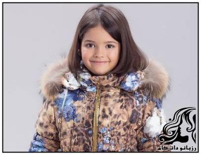 نمونه های زیبای کاپشن مخصوص دختر بچه Radrad