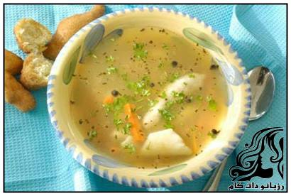 طرز تهیه سوپ ماهی کپور