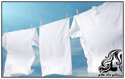 اصول مهم برای شستن لباس های سفید