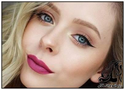 نمونه های زیبای آرایش صورت از Haley Wight