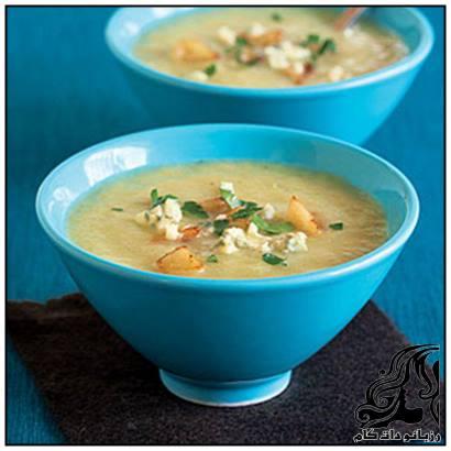 طرز تهیه سوپ قارچ و کرفس
