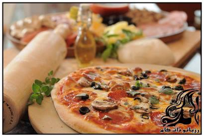 طرز تهیه پیتزا خانواده مخصوص