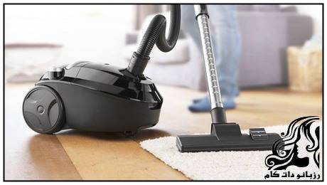 مرحله به مرحله تا تمیز کردن کامل جارو برقی