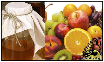 آموزش تهیه سرکه میوه خانگی