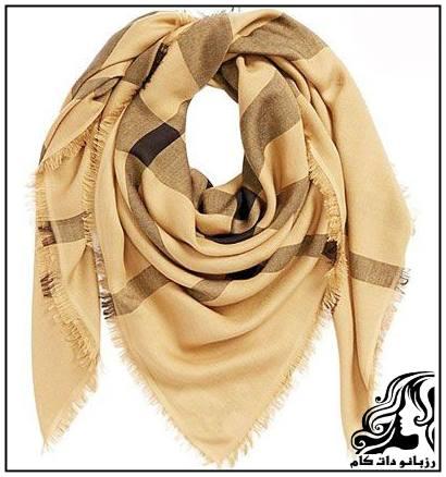 نمونه های شیک و زیبا روسری 2016
