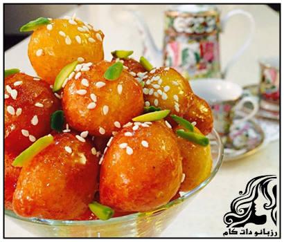 آموزش تهیه لگیمات (لیقمات) شیرینی بوشهری