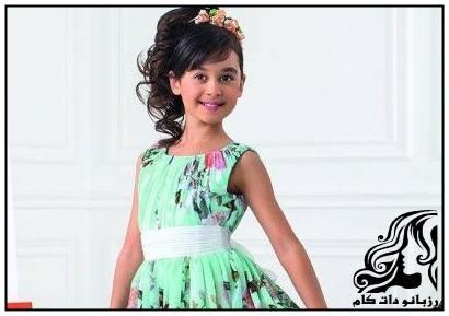 نمونه های لباس های دخترانه مجلسی از برند Perlitta