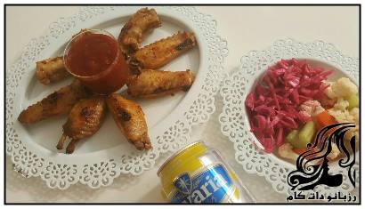 طرز تهیه بال مرغ مراکشی