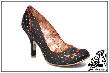 نمونه های کفش پاشنه بلند مجلسی زنانه