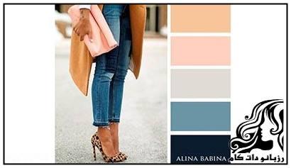 آموزش کامل بهترین رنگ های پاییزی لباس
