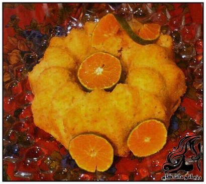 آموزش تهیه کیک نارنگی