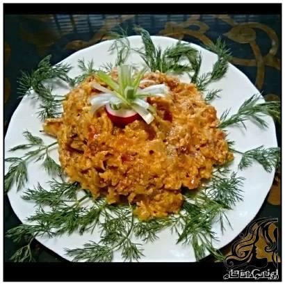 بابا قنوش (یه غذای لبنانی)