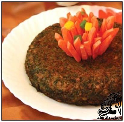 طرز تهیه کوکوی گردو و گوشت