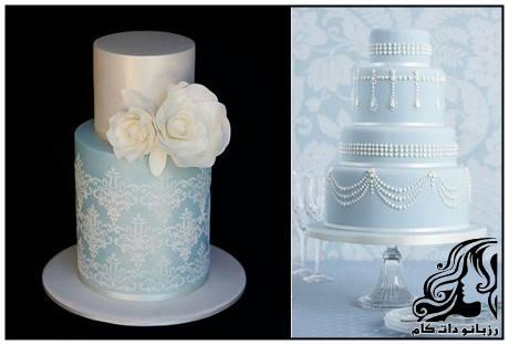 شیک ترین و زیباترین مدل کیک های عروسی