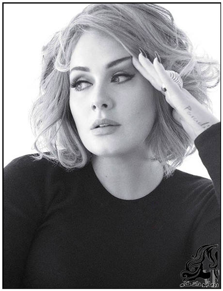 تصاویر زیبای ادل روی مجله ونتی فر