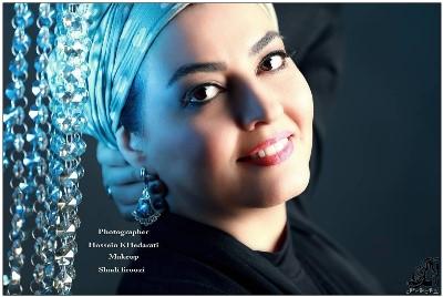 تصویر زیبا و آتلیه ای آناهیتا همتی