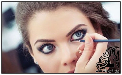 راهنمای تصویری خط چشم برای مدل های چشم
