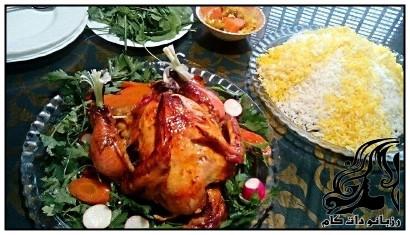 مرغ شکم پر ارسالی کاربران رزبانو