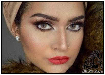 نمونه های آرایش عربی و خلیجی از Sumera Waheed