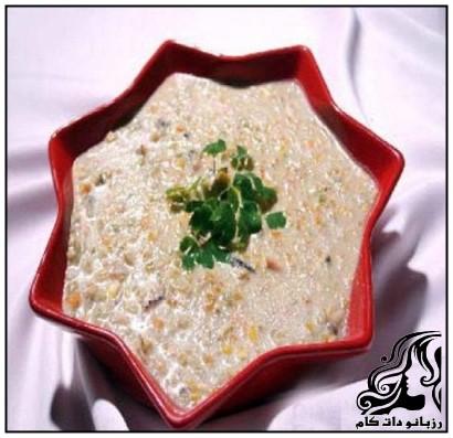 طرز تهیه سوپ قارچ با سبزيجات