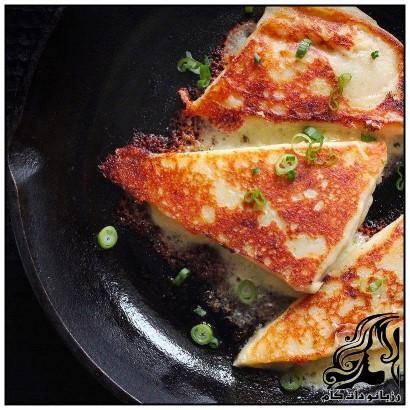 طرز تهیه کیک سیب زمینی با پنیر چدار