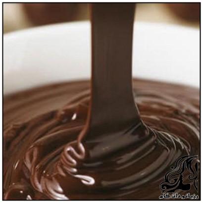 طرز تهیه سس شکلات