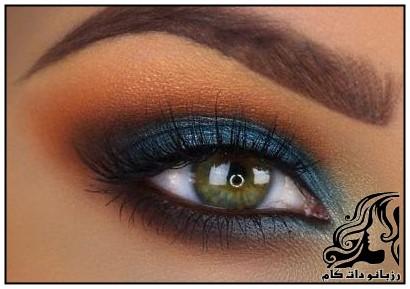 نمونه های زیبای آرایش چشم از Tania Waller