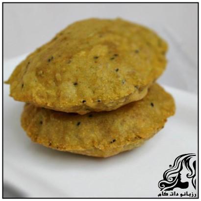 طرز تهیه فطیر دامغانی ؛ نان محلی