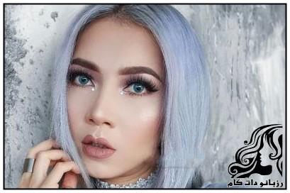 نمونه های شیک آرایش صورت فانتزی از Elsa Amelia