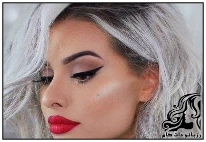 مدل های زیبای آرایش صورت از TALIA MAR