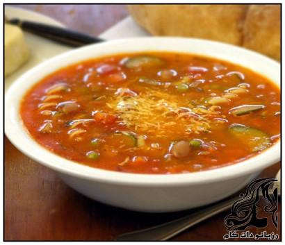 طرز تهیه سوپ ايتاليایی