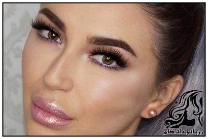 نمونه های آرایش صورت زیبا از Mirellamendes