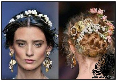 نمونه های ناب مدل موی عروس 2017