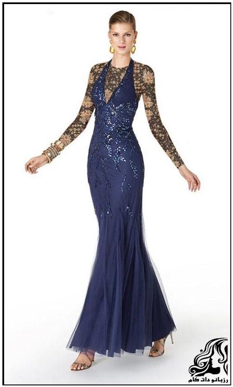 نمونه های مدل لباس شب جدید و زیبا 2016