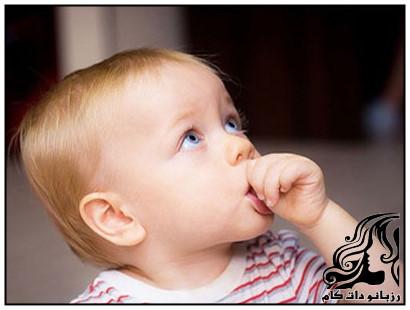 درمان مکیدن انگشت در کودکان