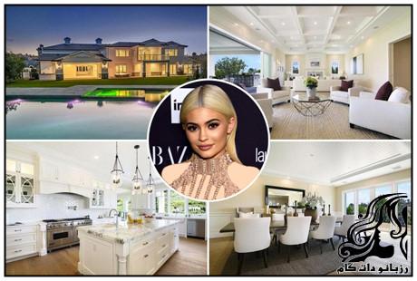 دکوراسیون خانه ی کایلی جنر kylie Jenner