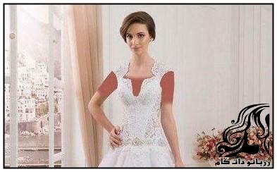 نمونه های شیک لباس عروس از برند NIKA