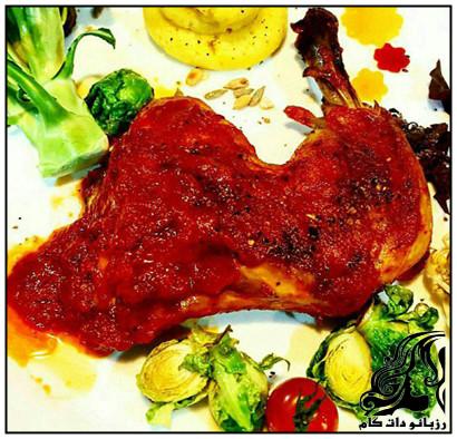 آموزش تهیه مرغ پنجابی(غذای هندی)