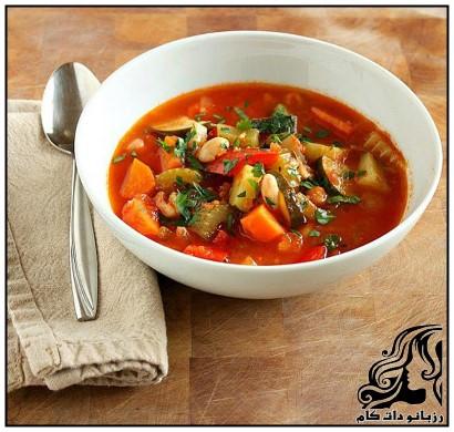 طرز تهیه سوپ سبزی(ایتالیایی)
