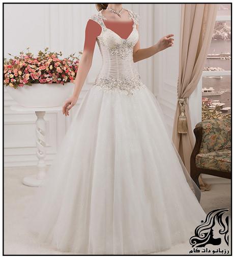 جدیدترین نمونه های لباس عروس 2017