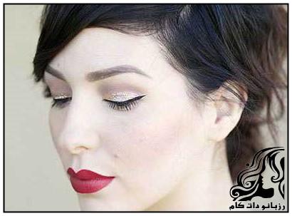 نمونه های آرایش چشم برای مجالس شبانه