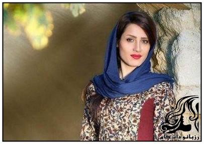 مانتو با طرح های اصیل ایرانی برند ایواز