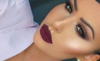 نمونه های آرایش صورت بی نظیر و زیبا 2017