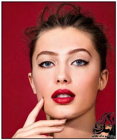 مدل آرایش شیک به سبک کریستین مک کلاچ