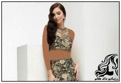 نمونه های لباس مجلسی بلند برند Jasz Couture